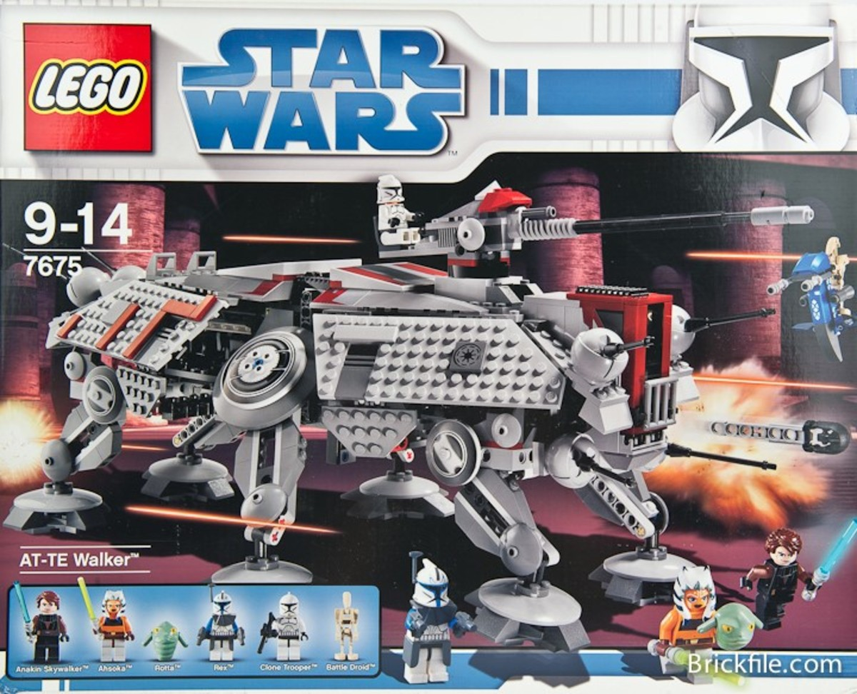 LEGO Star Wars AT-TE Walker 7675 Box