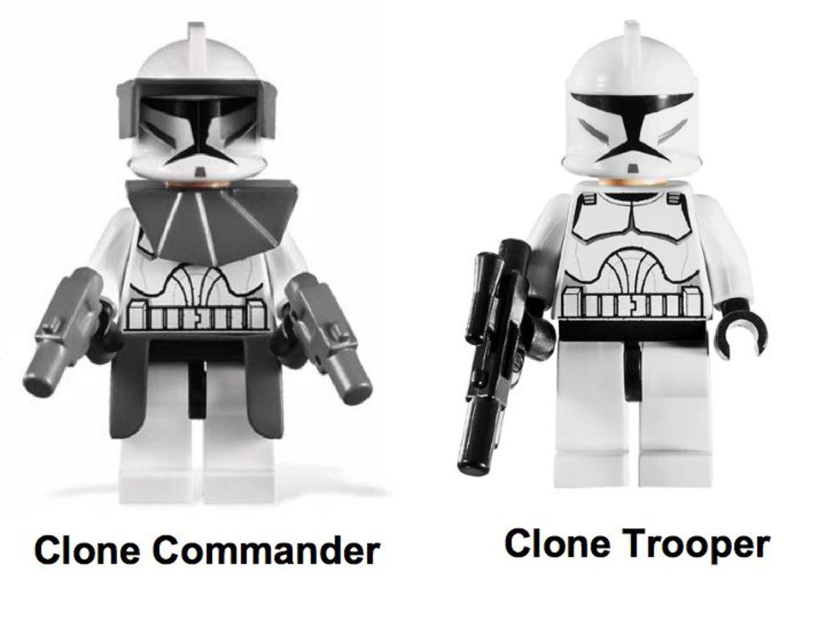 LEGO Star Wars Republic Fighter Tank 7679 Minifigure
