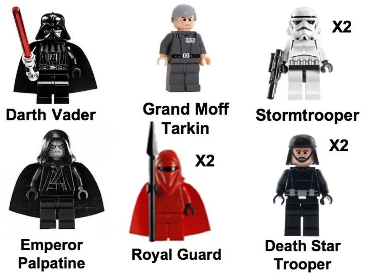 LEGO Star Wars Death Star 10188 Minifigures Imperial