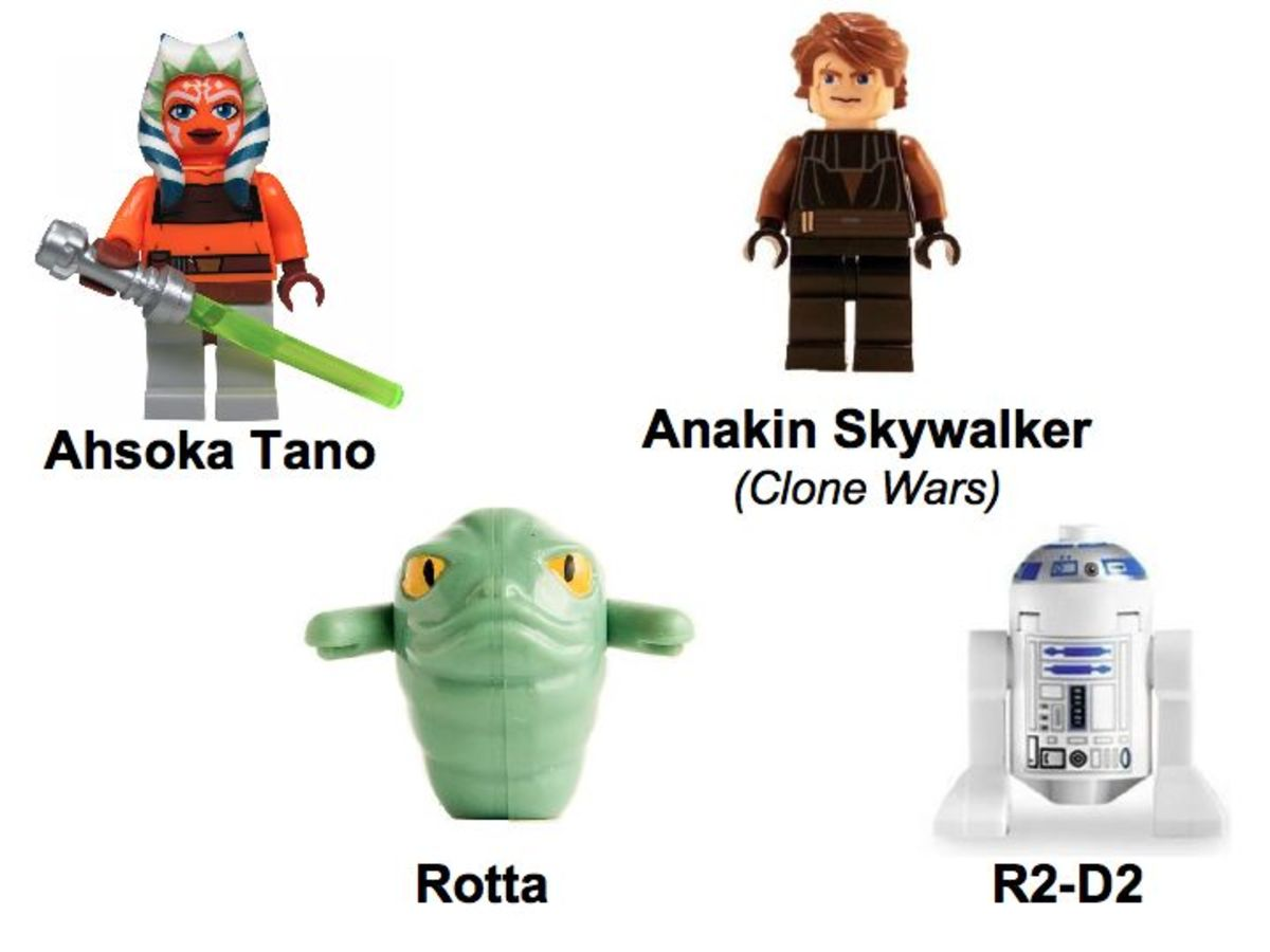 LEGO Star Wars The Twilight 7680 Minifigures
