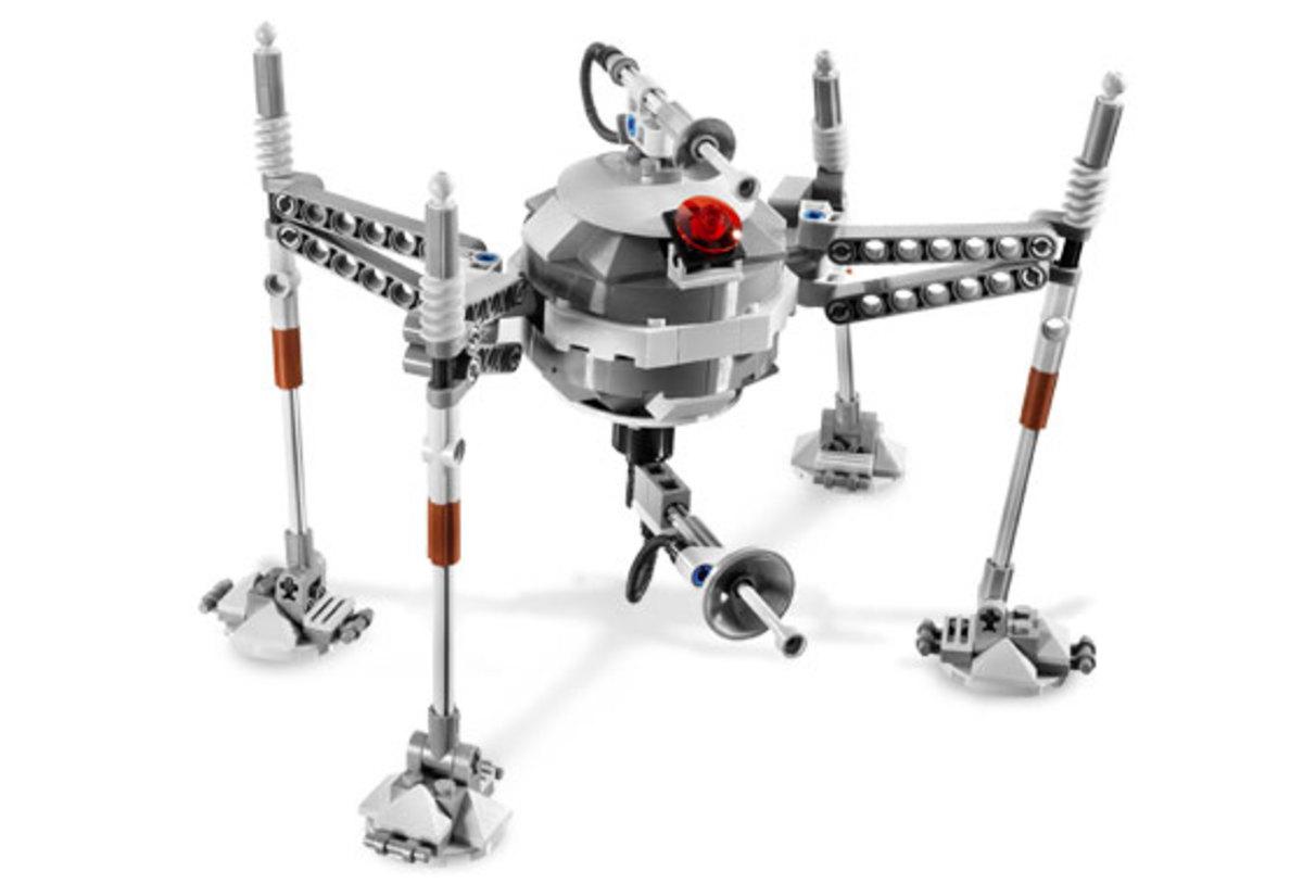 LEGO Star Wars Separatist Spider Droid 7681 Assembled