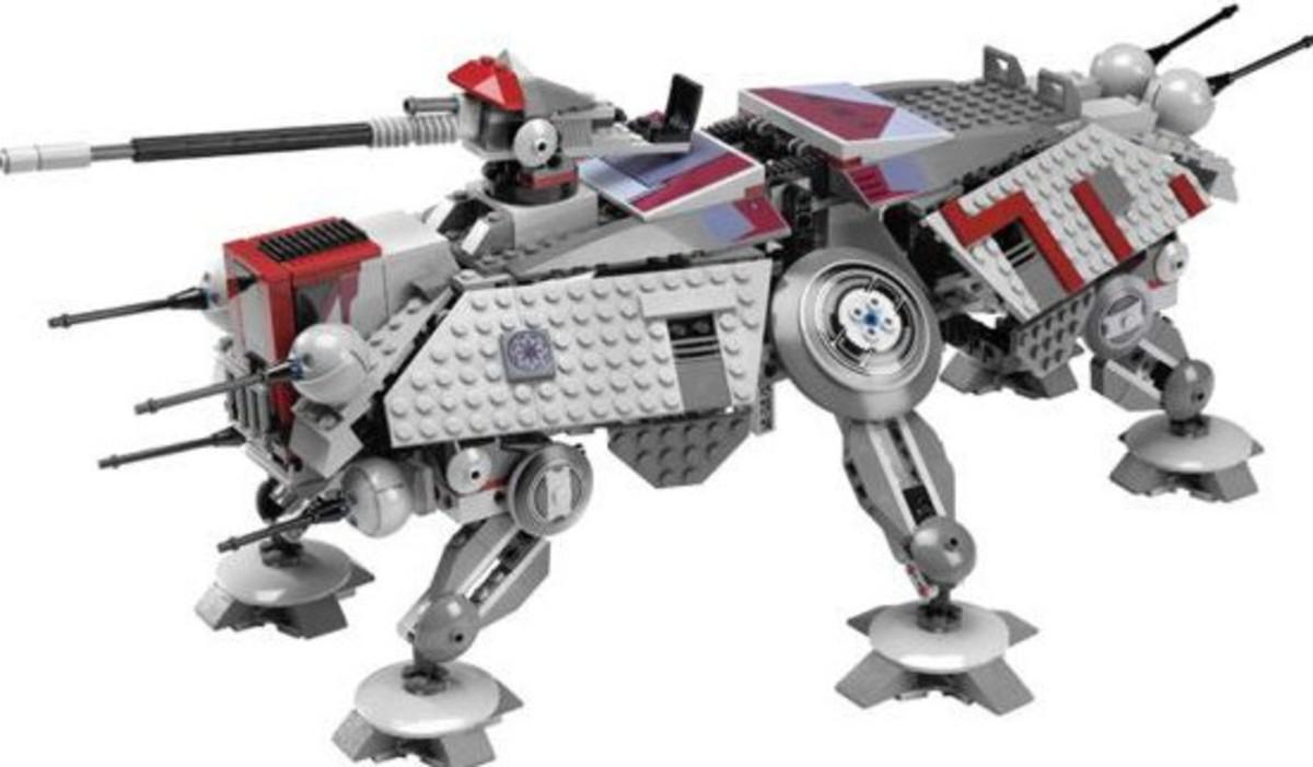 LEGO Star Wars AT-TE Walker 7675 Assembled