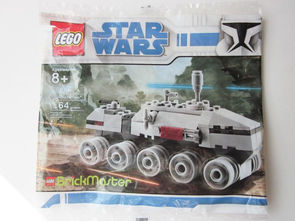 LEGO Star Wars Clone Turbo Tank 20006 Bag