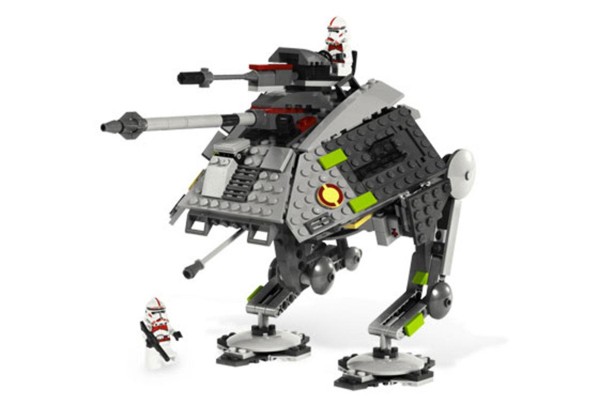 LEGO Star Wars AT-AP Walker 7671 Assembled