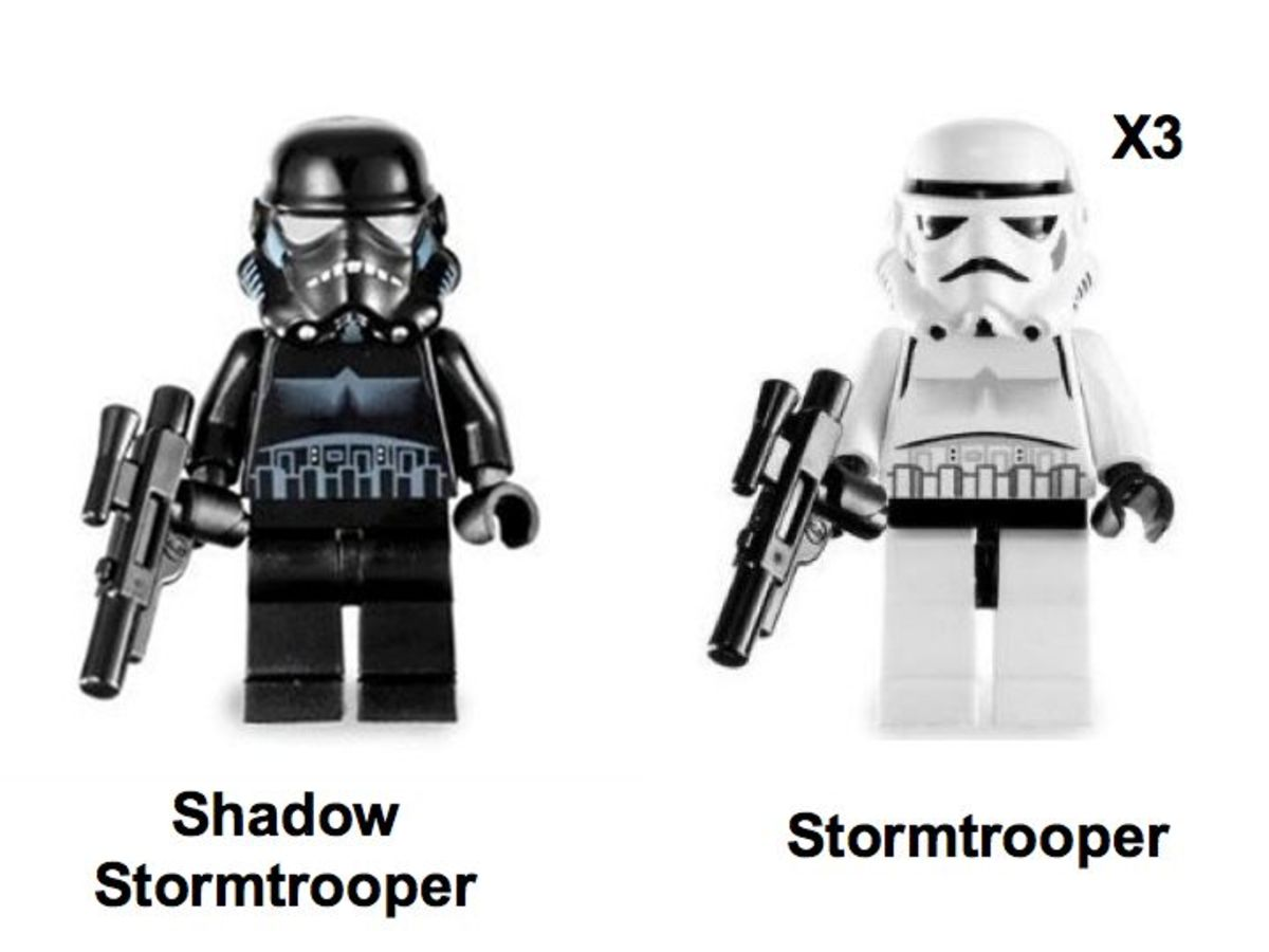 LEGO Star Wars Imperial Dropship 7667 Minifigures