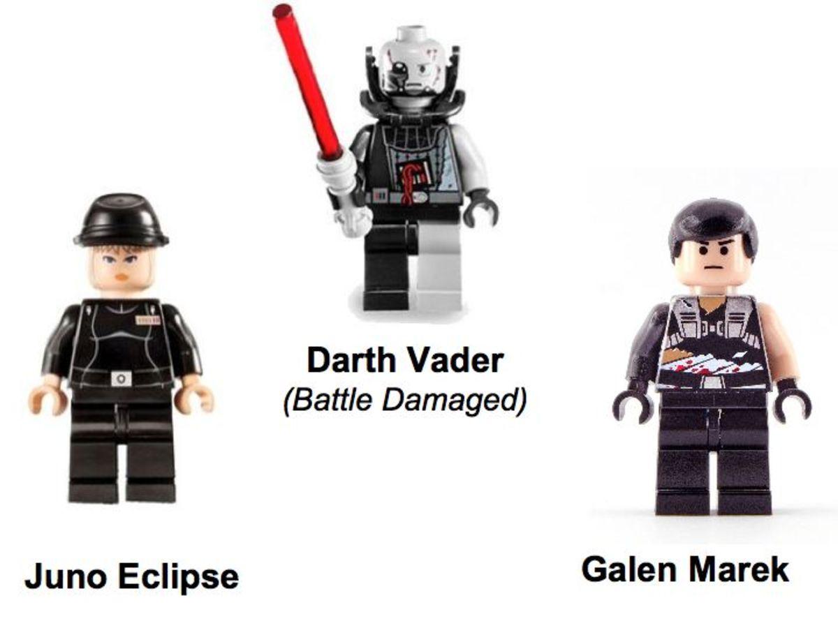 LEGO Star Wars Rogue Shadow 7672 Minifigures