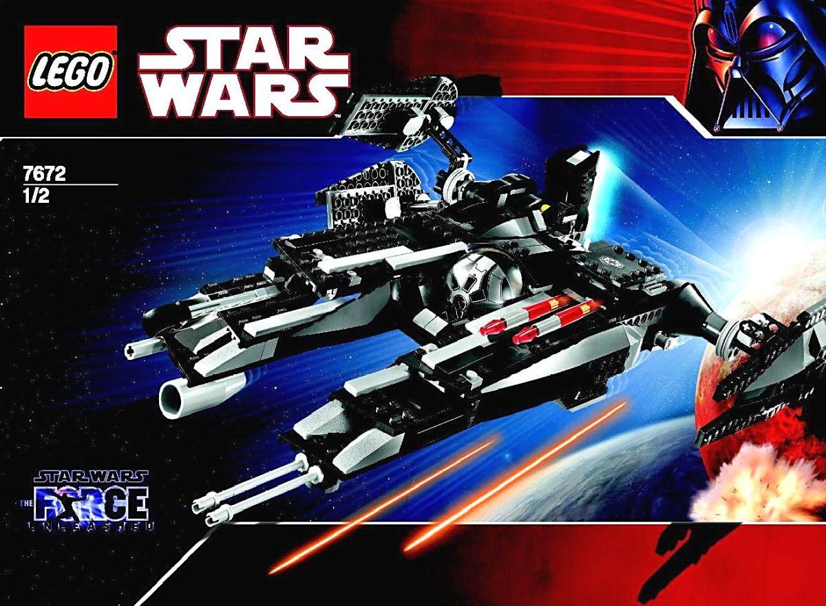 LEGO Star Wars Rogue Shadow 7672 Box
