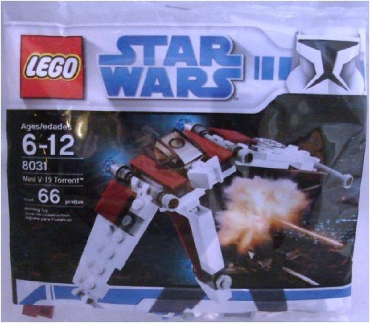 LEGO Star Wars V-19 Torrent 8031 Bag