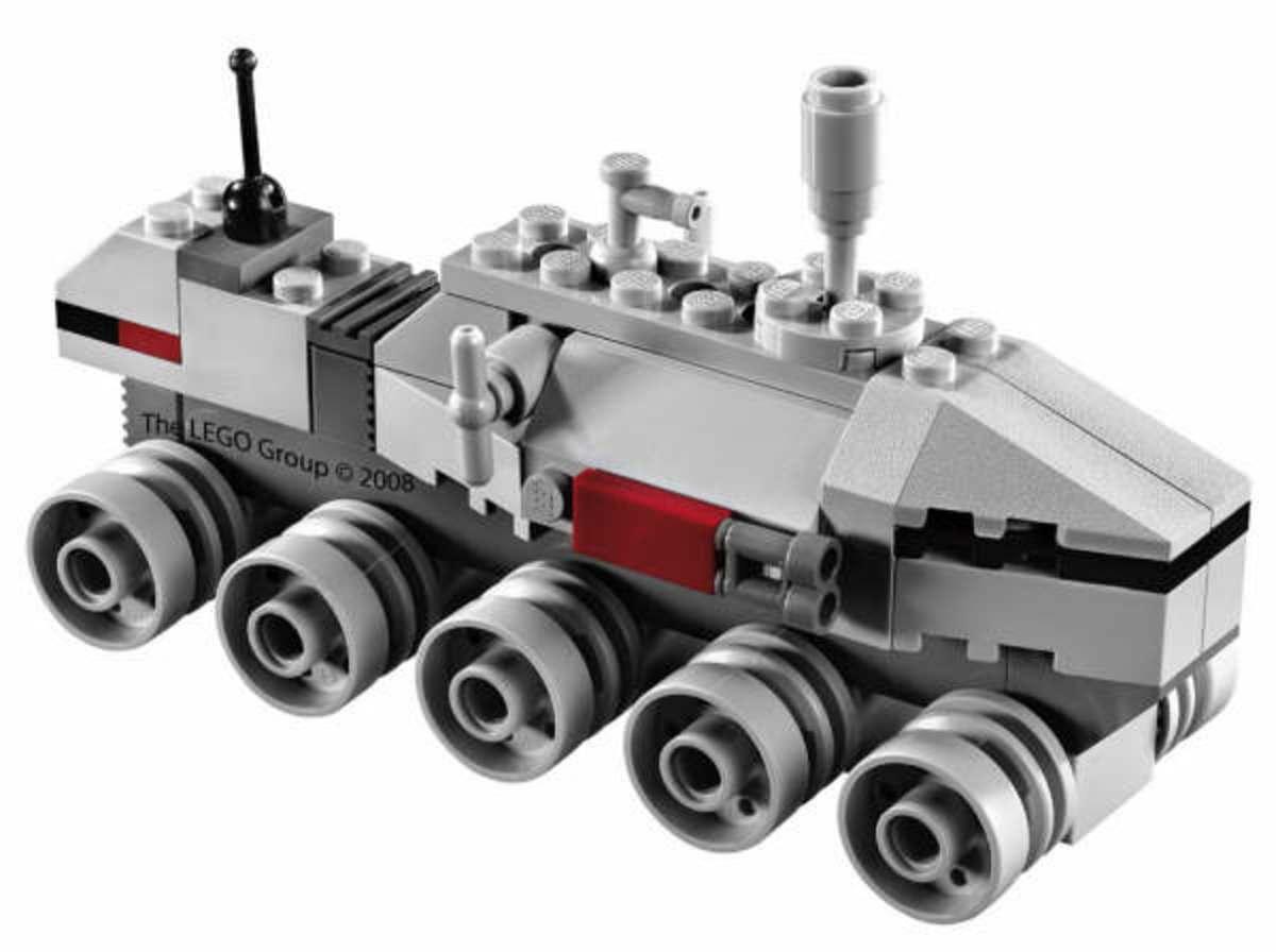 LEGO Star Wars Clone Turbo Tank 20006 Assembled