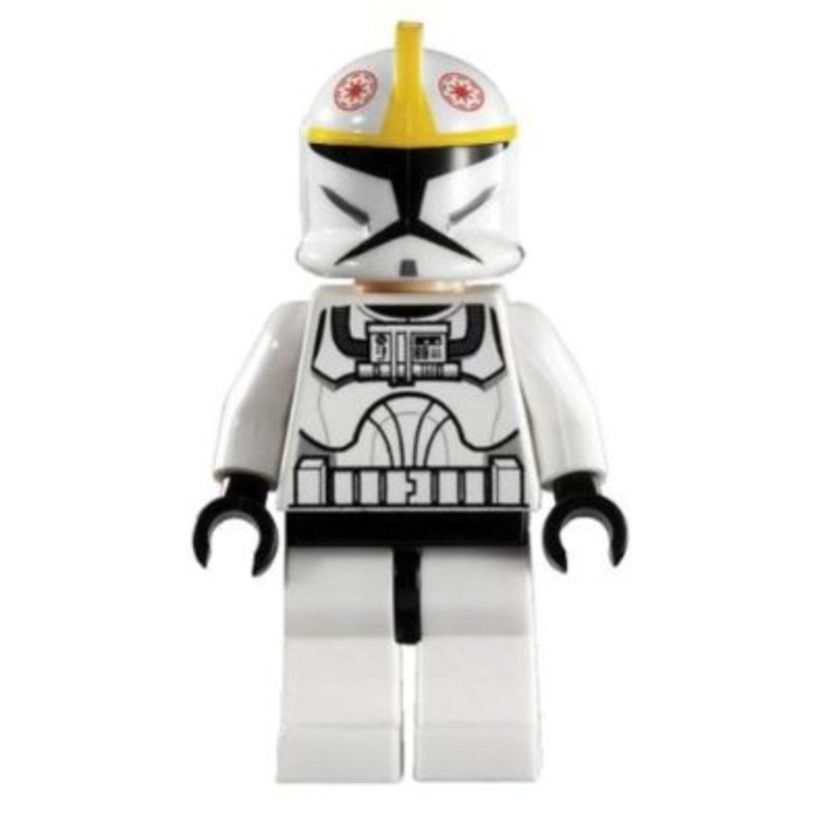 LEGO Star Wars V-19 Torrent 7674 Clone Pilot Minifigure