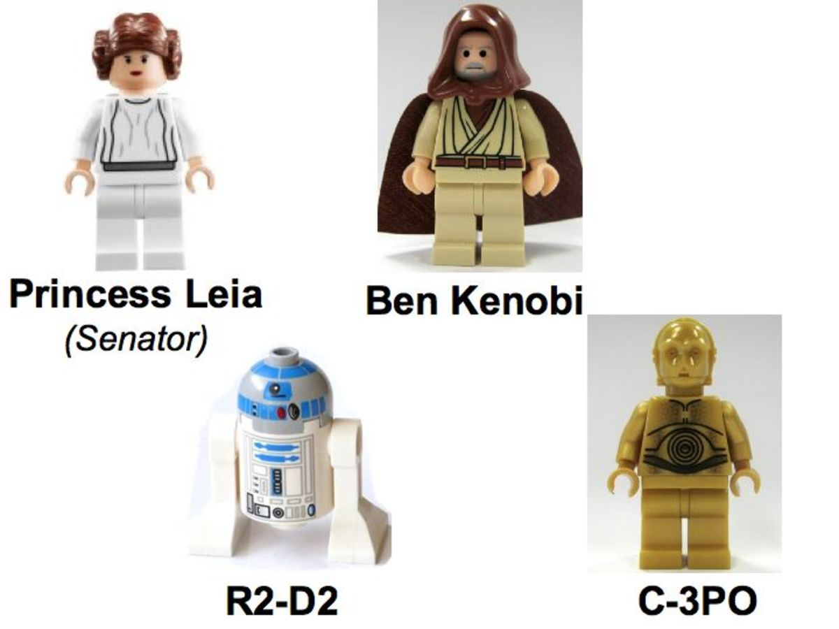 LEGO Star Wars Death Star 10188 Minifigures Rebels
