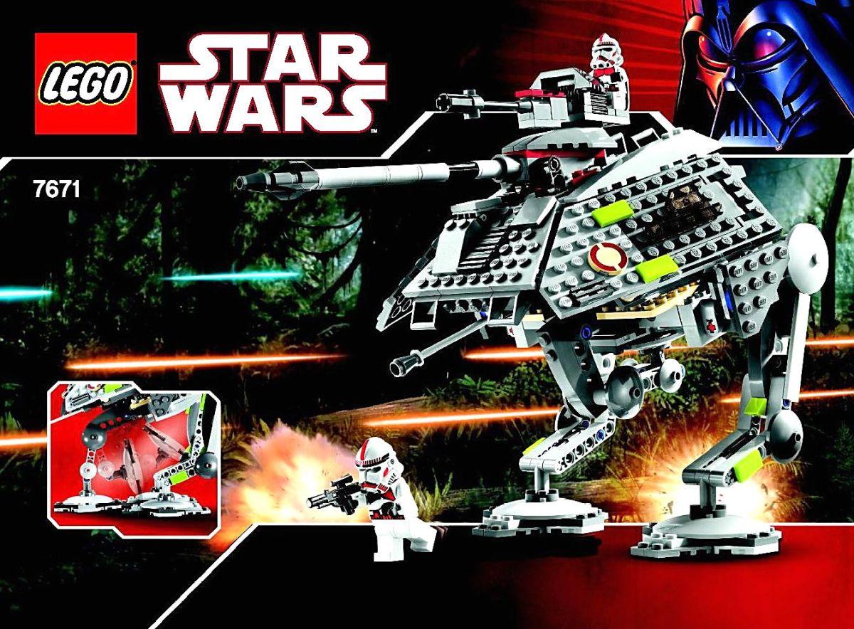 LEGO Star Wars AT-AP Walker 7671 Box
