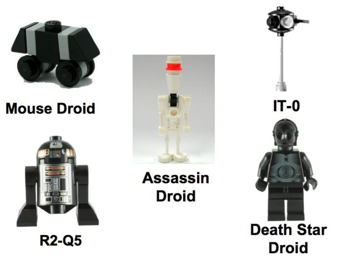 LEGO Star Wars Death Star 10188 Minifigures Droids