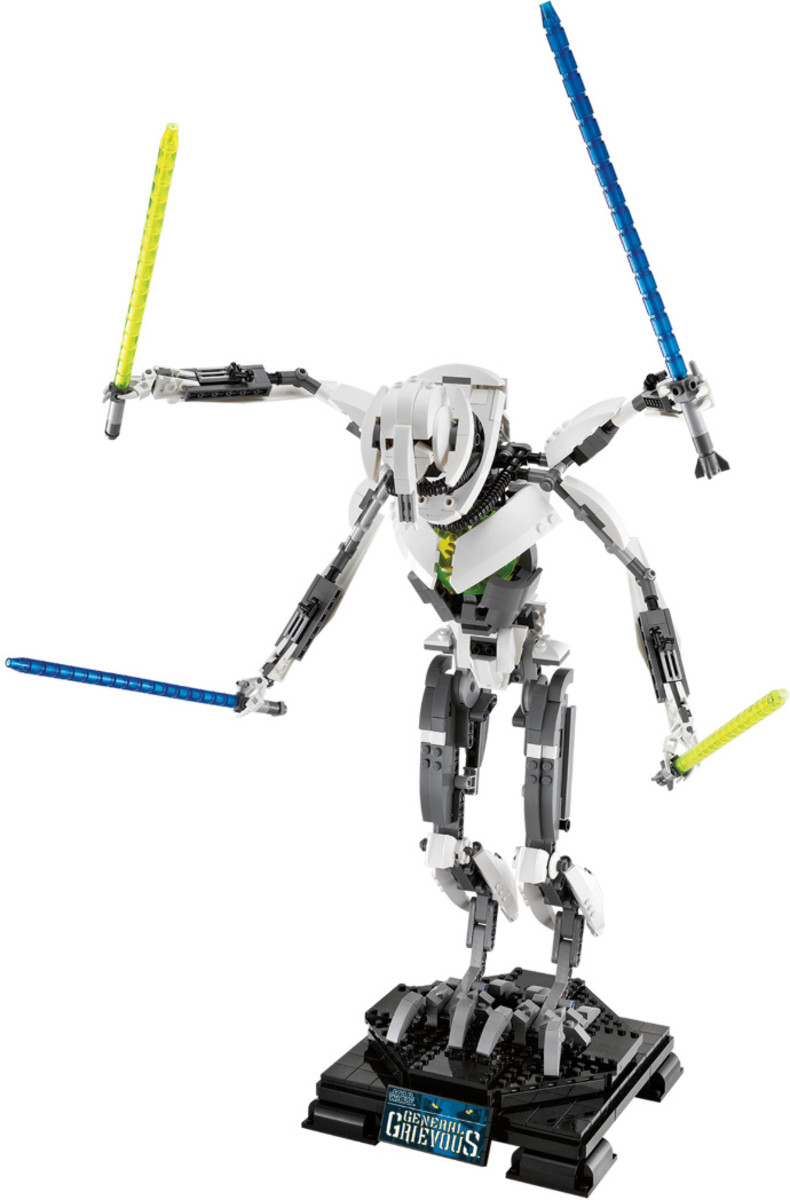 LEGO Star Wars General Grievous 10186 Assembled