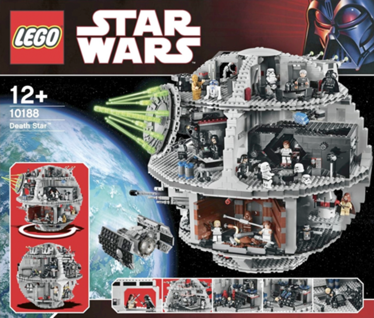 LEGO Star Wars Death Star 10188 Box