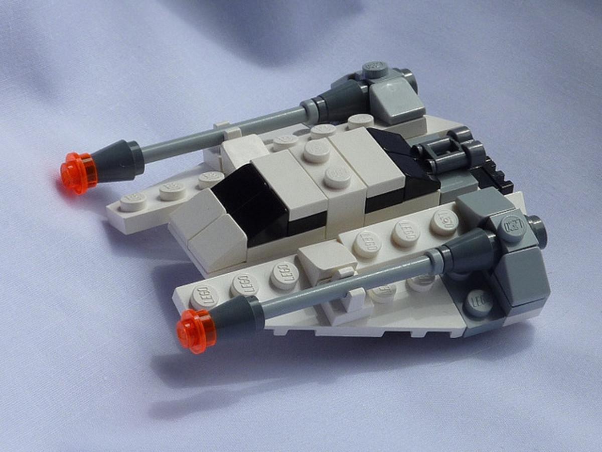 LEGO Star Wars Snowspeeder 8029 Assembled
