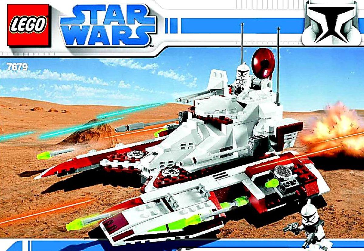 LEGO Star Wars Republic Fighter Tank 7679 Box