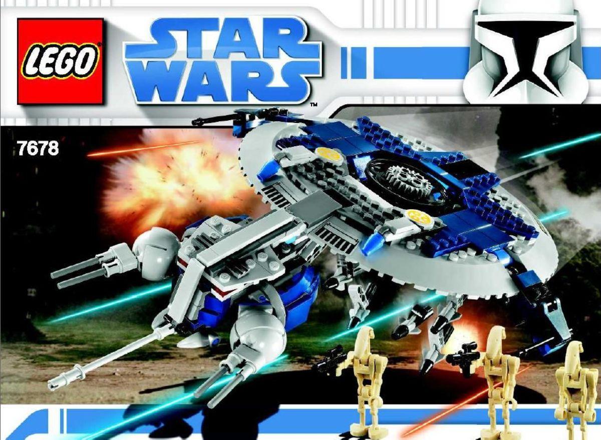 LEGO Star Wars Droid Gunship 7678 Box