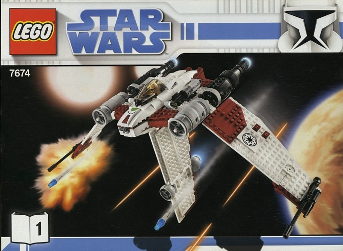 LEGO Star Wars V-19 Torrent 7674 Box