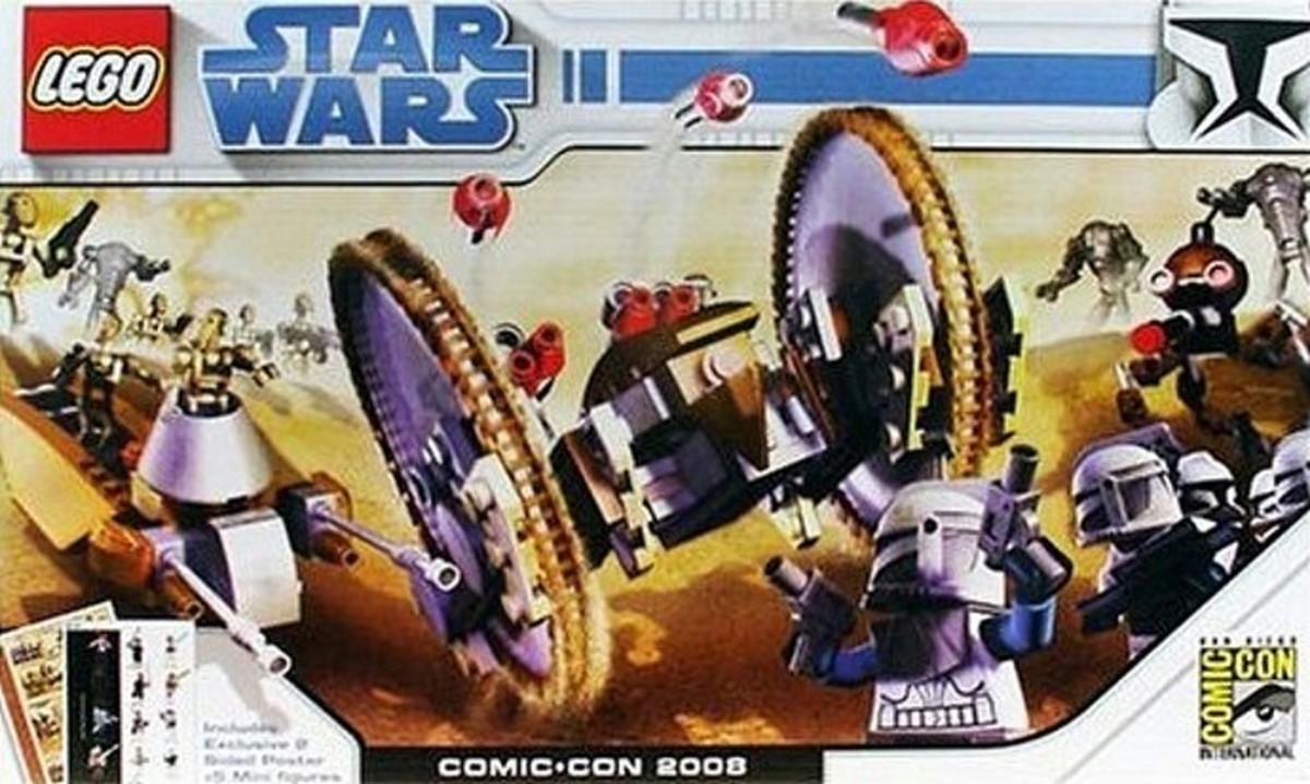 LEGO Star Wars Clone Wars Exclusive comcon001 Box