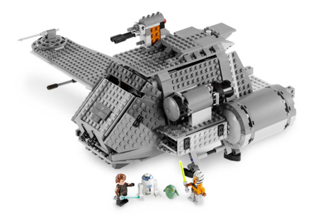 LEGO Star Wars The Twilight 7680 Assembled