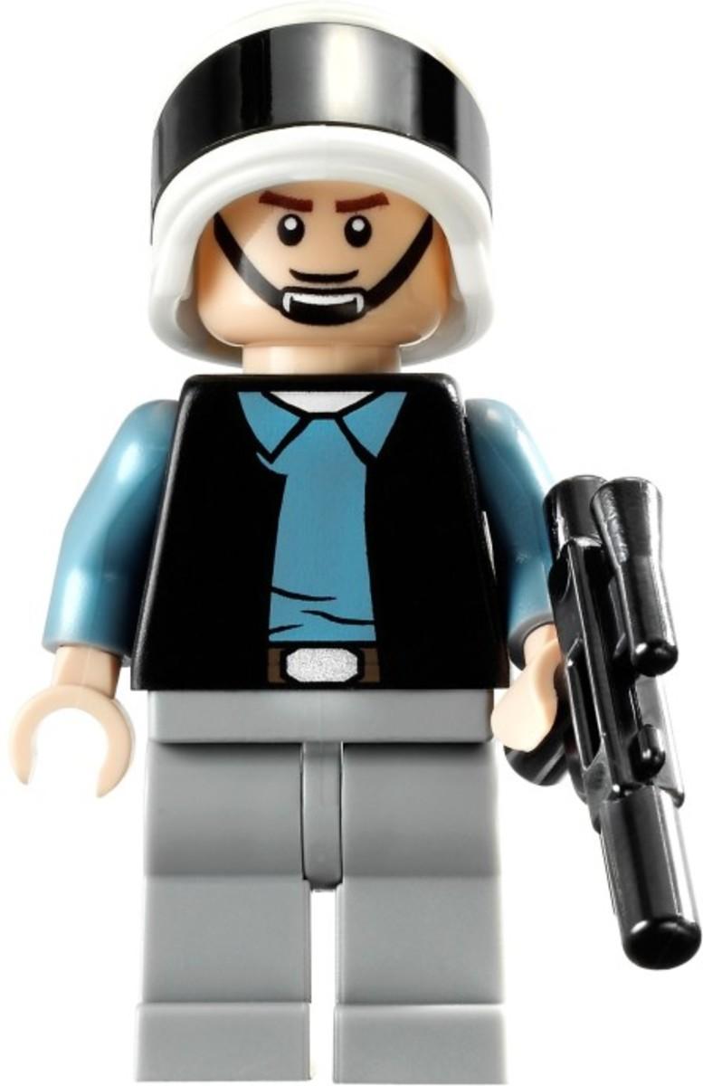 LEGO Star Wars Rebel Scout Speeder 7668 Rebel Trooper Minifigure