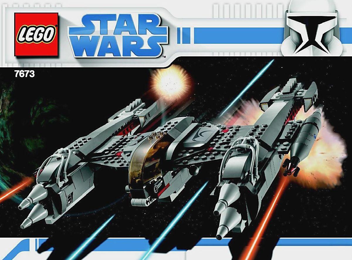 LEGO Star Wars MagnaGuard Starfighter 7673 Box