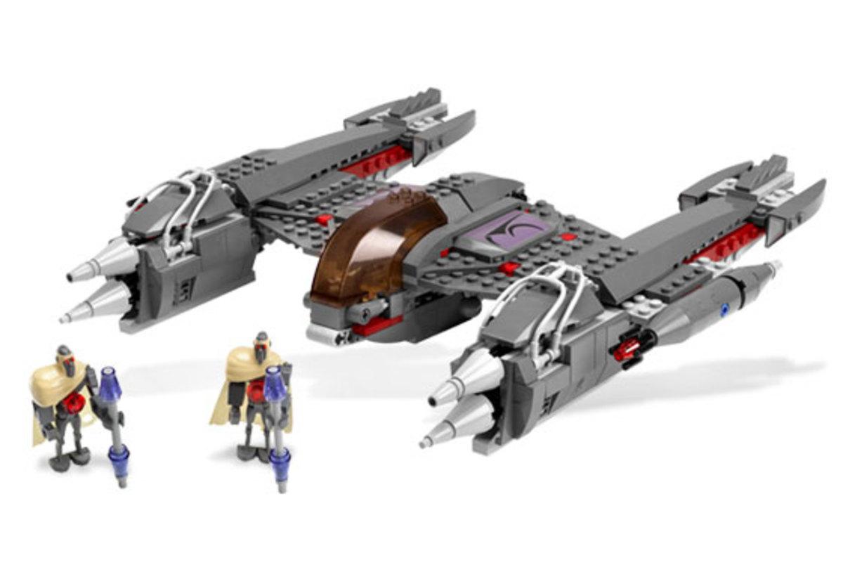 LEGO Star Wars MagnaGuard Starfighter 7673 Assembled