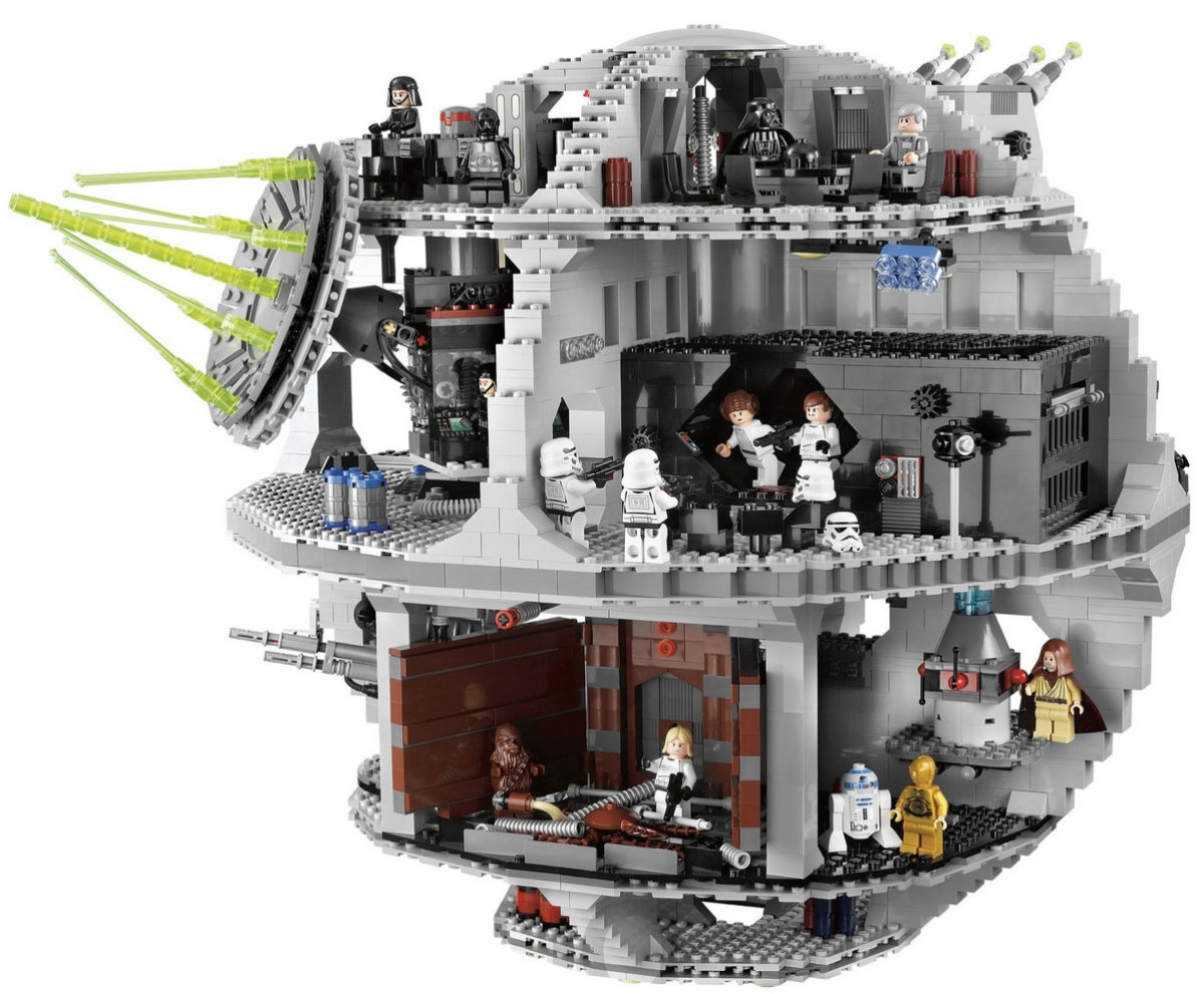 LEGO Star Wars Death Star 10188 Assembled