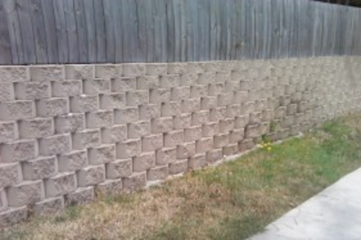 Fixing A Leaning Retaining Wall : Diy retaining walls
