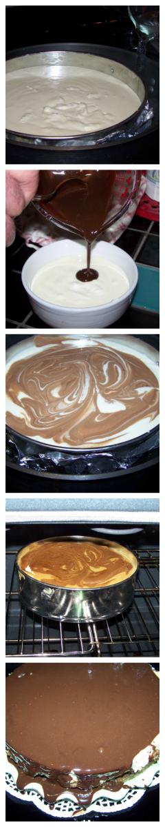 Mix, Bake and Eat Cheesecake