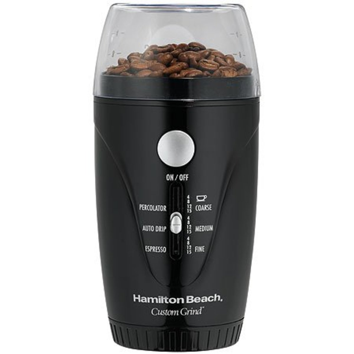 •Hands-Free - Press Button and Let Go •Auto Shutoff •Fineness Control •Rich and Robust Flavor •Retractable Cord