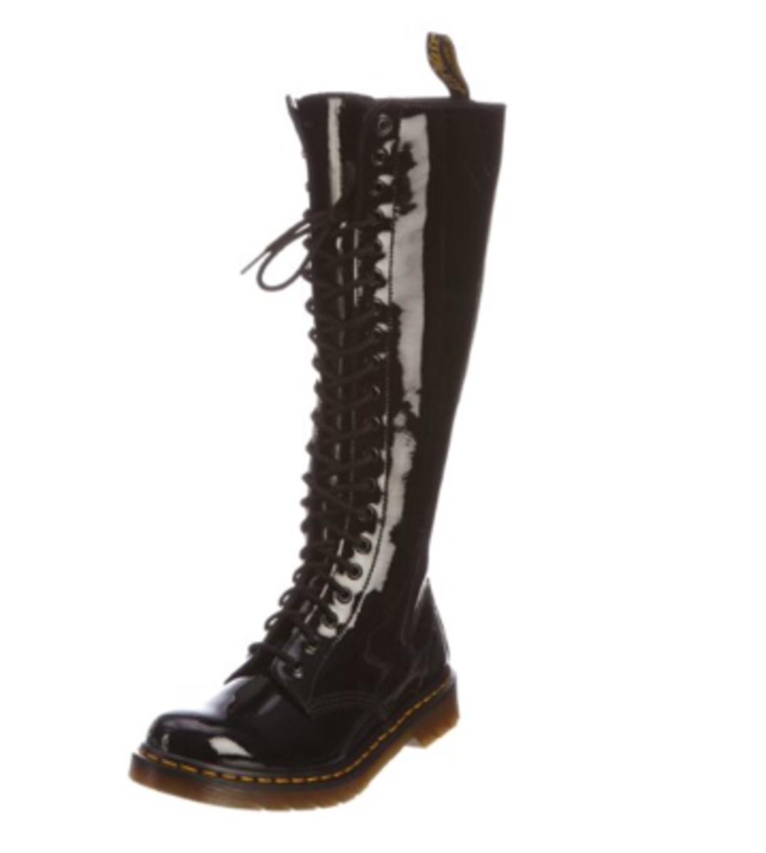 Dr. Marten's Women's 1B60 20-Eye Boot, Black - $199.99 on Amazon