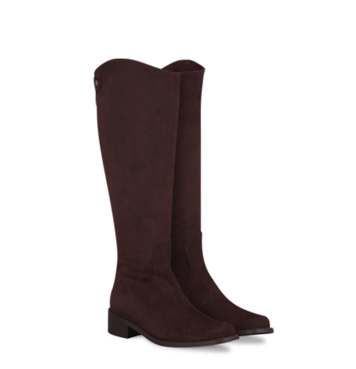 Duo's Equestrian style Seymour Brown Fitted Women's Boot, available in brown and black - $355