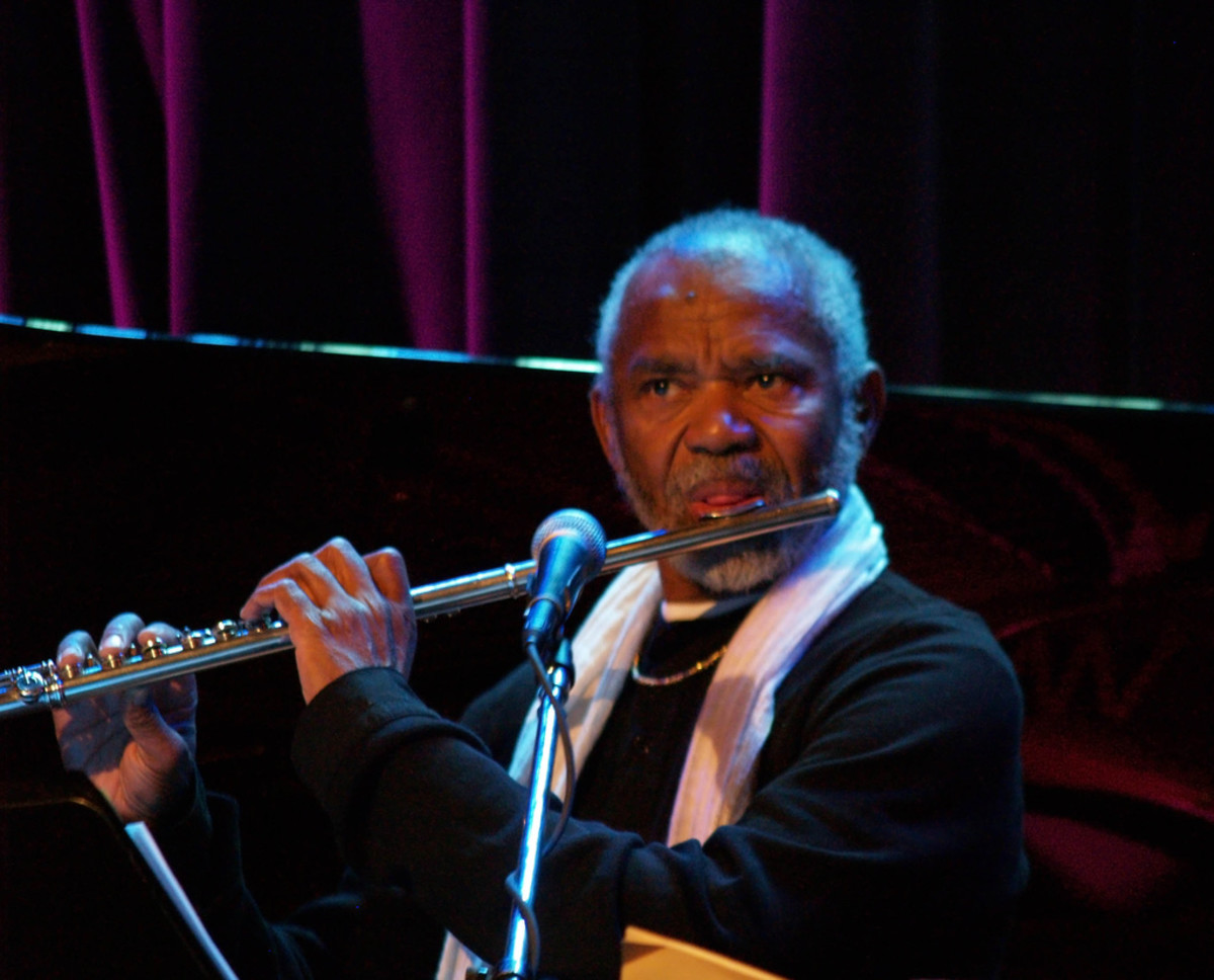 Hubert Laws:  is an American flutist and saxophonist with a career spanning over 40 years in jazz, classical, and other music genres. Alongside Herbie Mann, Laws is probably the most recognized and respected jazz flutist. Laws is one of the few class