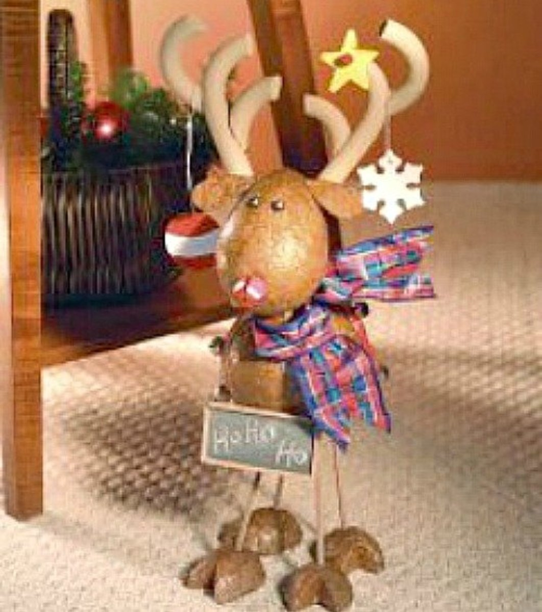 33 Super Cute Reindeer Craft Ideas