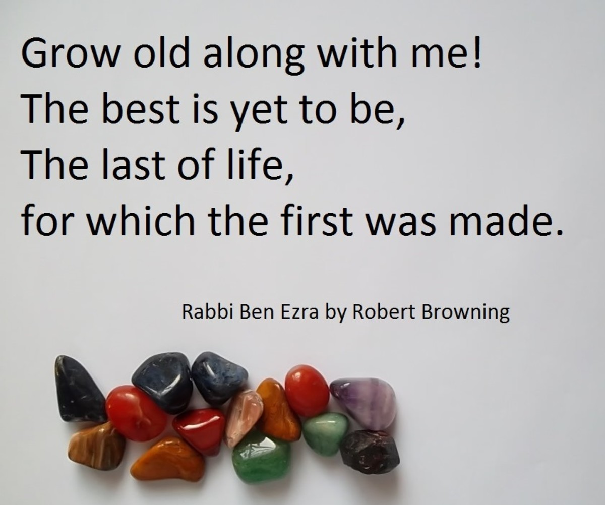 Rabbi Ben Ezra by Robert Browning