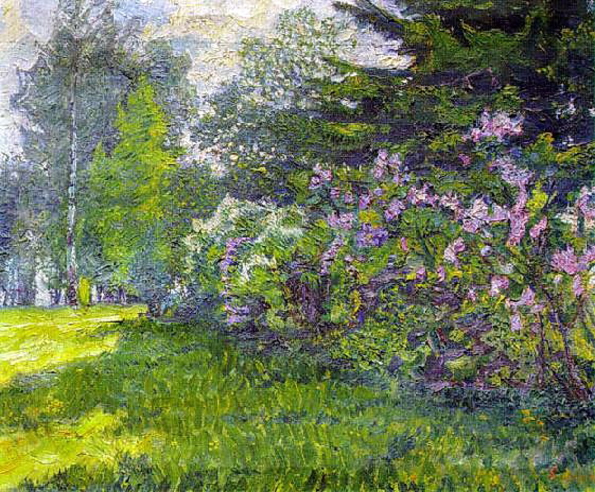 Lilac in the Park