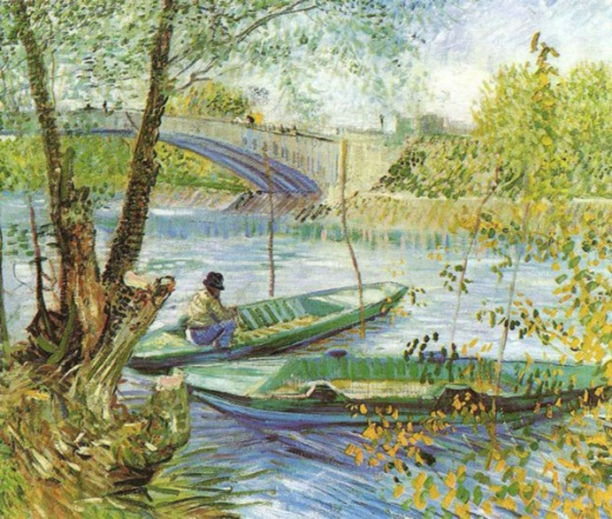 Fishing in the Spring