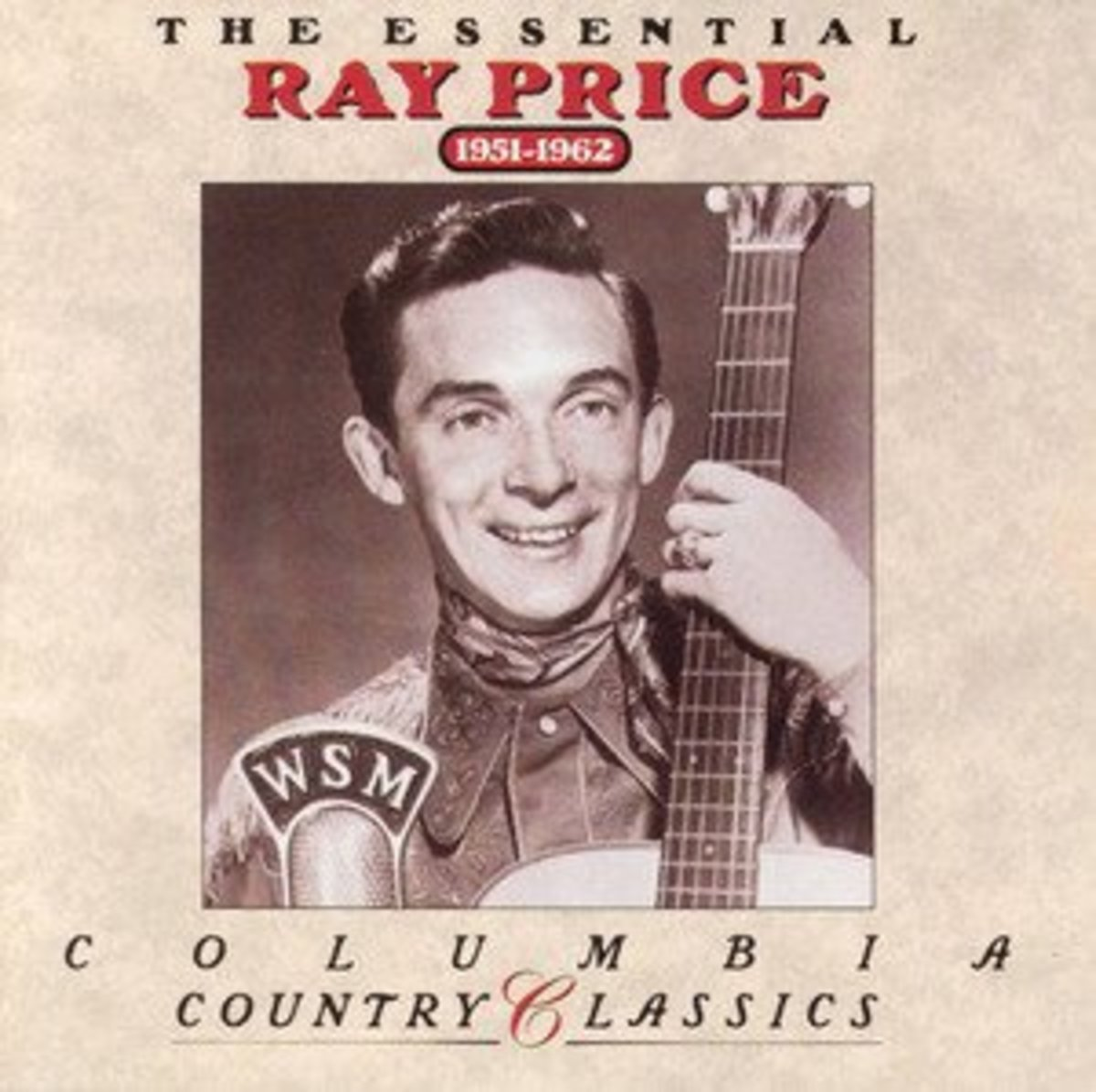 Ray Price, Country Classics, Album cover 1951-1962