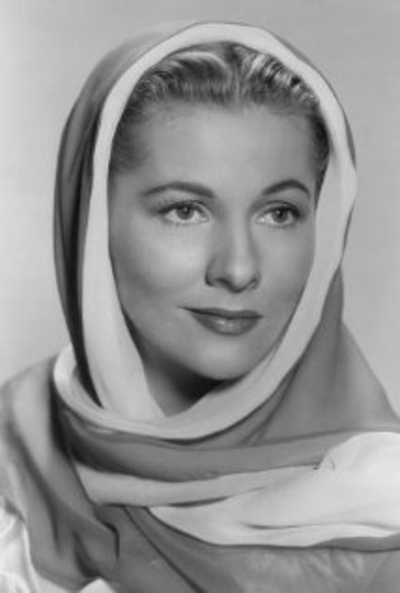 Joan Fontaine from the movie Serenade in1956