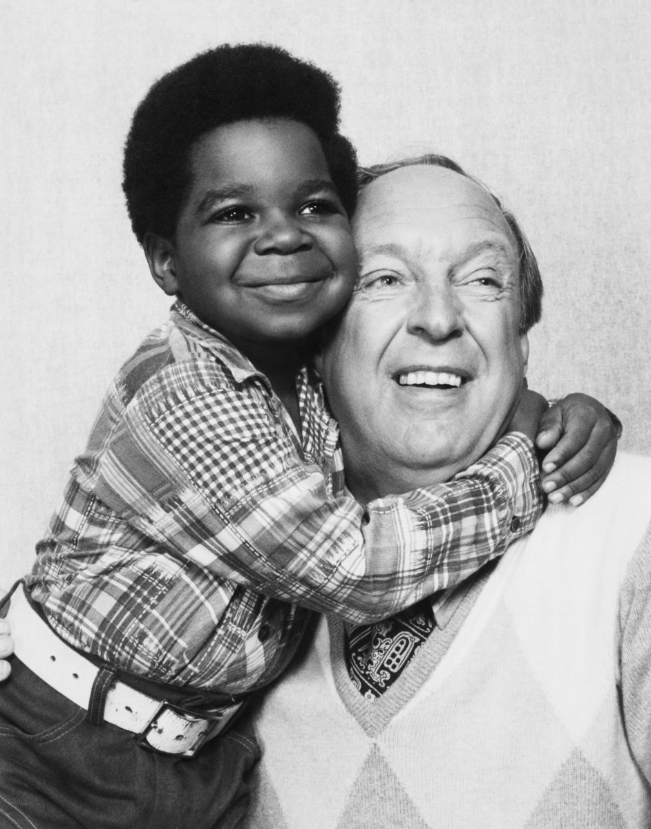 Conrad Bain, with Gary Coleman in Diff'rent Strokes