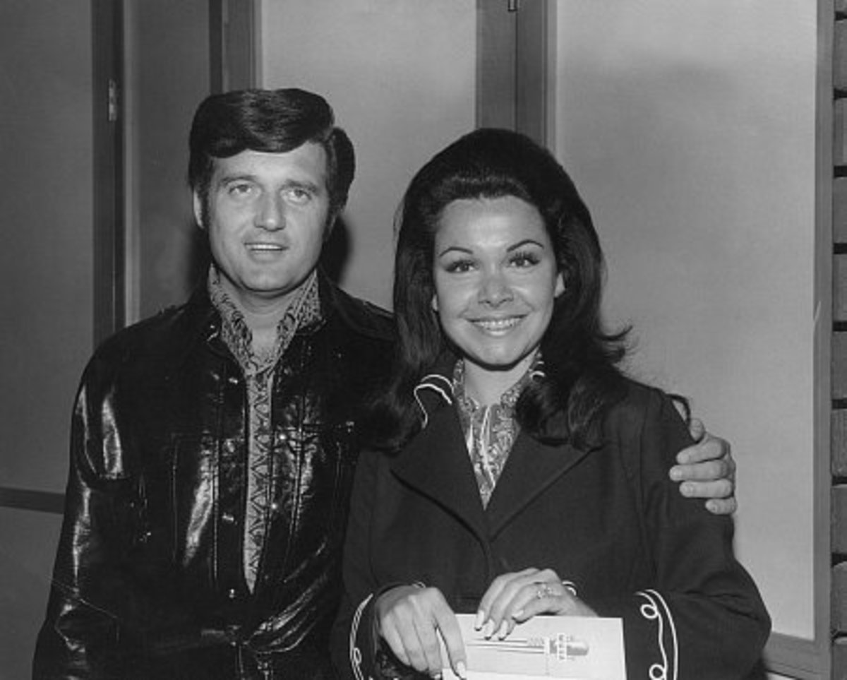 Annette Funicello with her husband Jack Gilardi, around 1970.