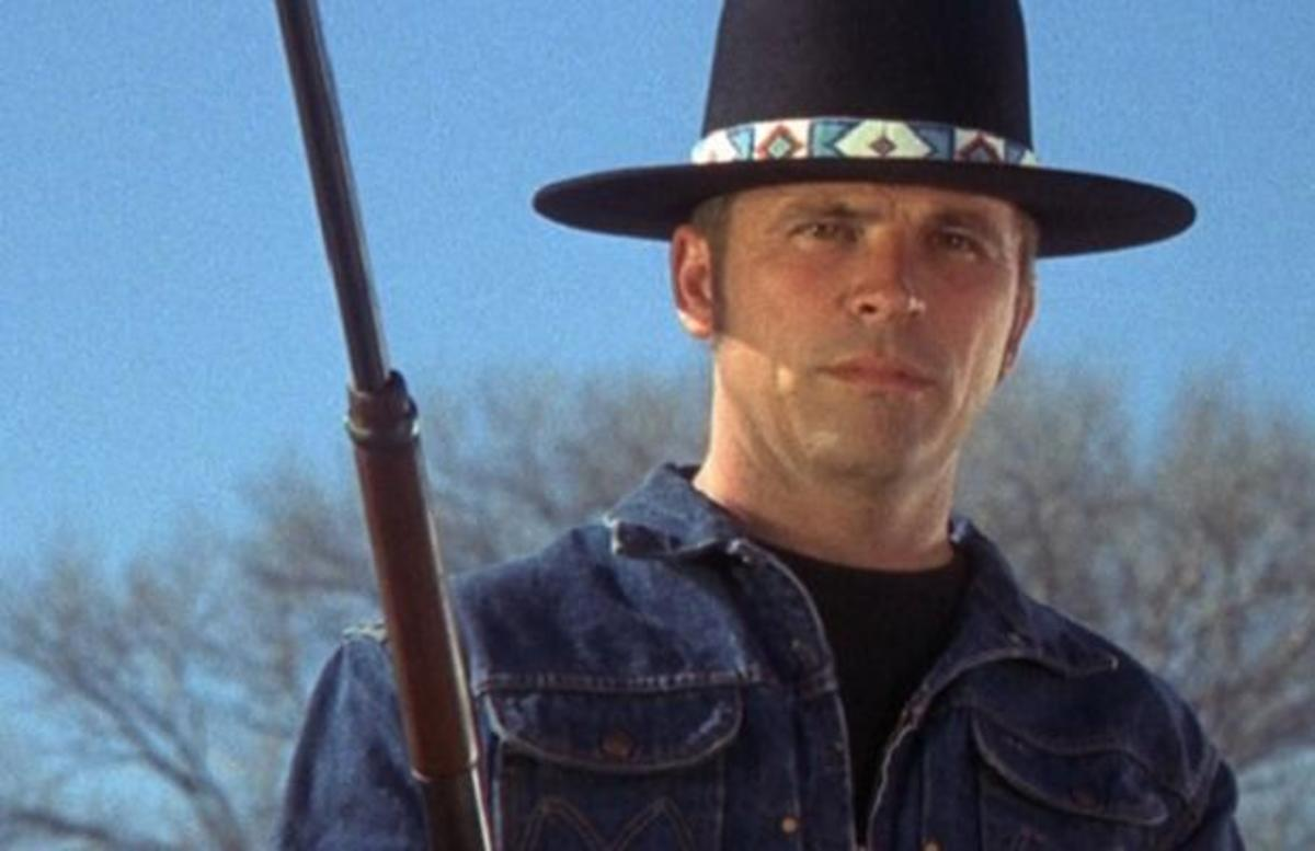Tom Laughlin in the character Billy Jack, circa 1970.
