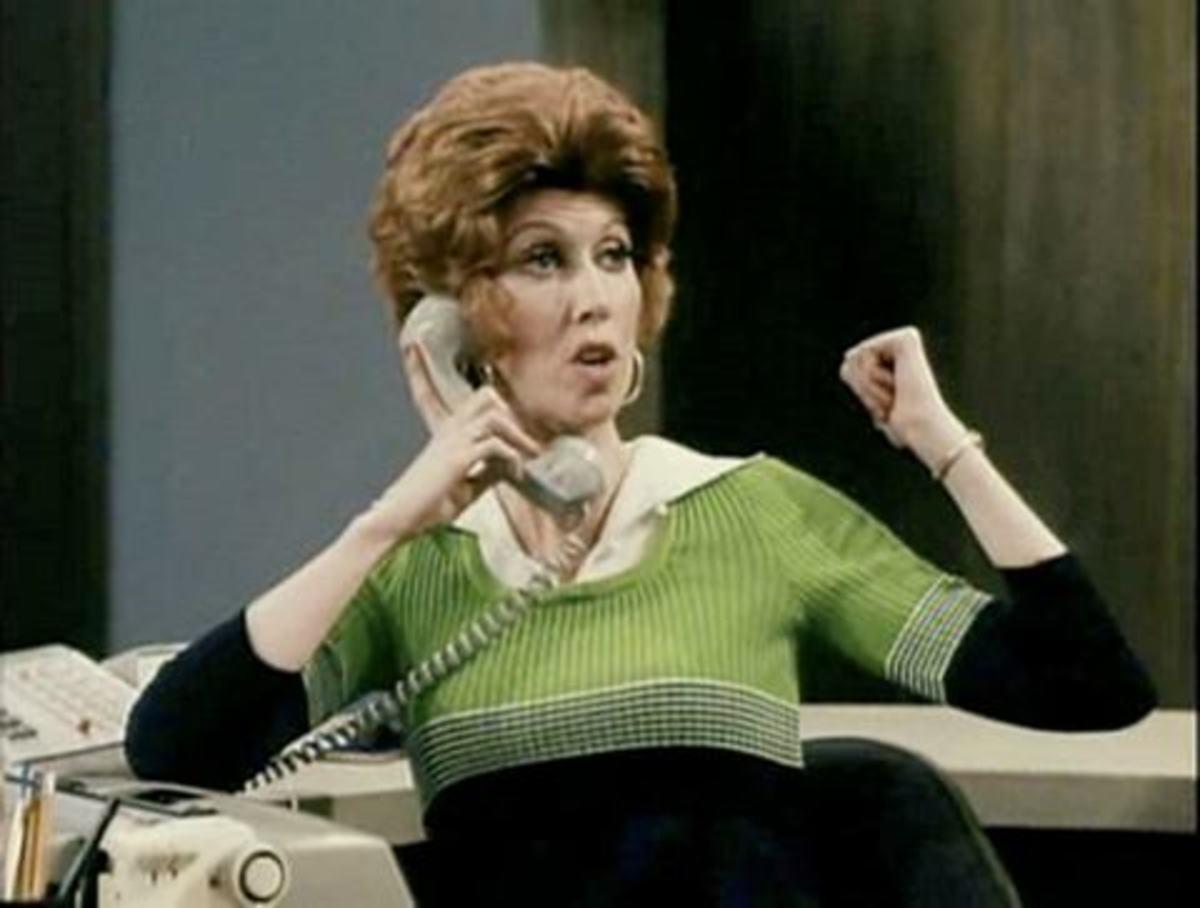 Marcia Wallace as Carol Kester in 1974.