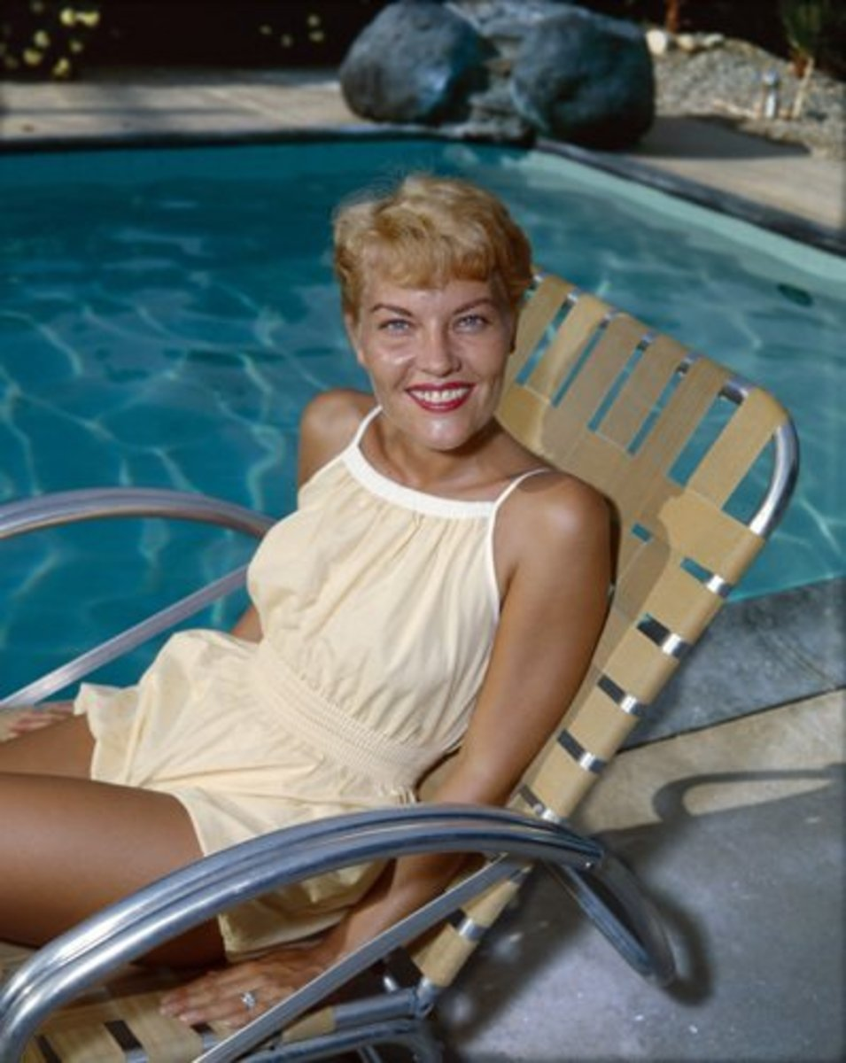 Patti Page in the 1950's.
