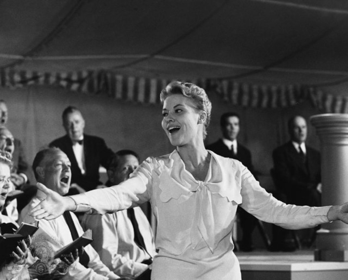 Patti Page in a still photo from Elmer Gantry by MGM Studios