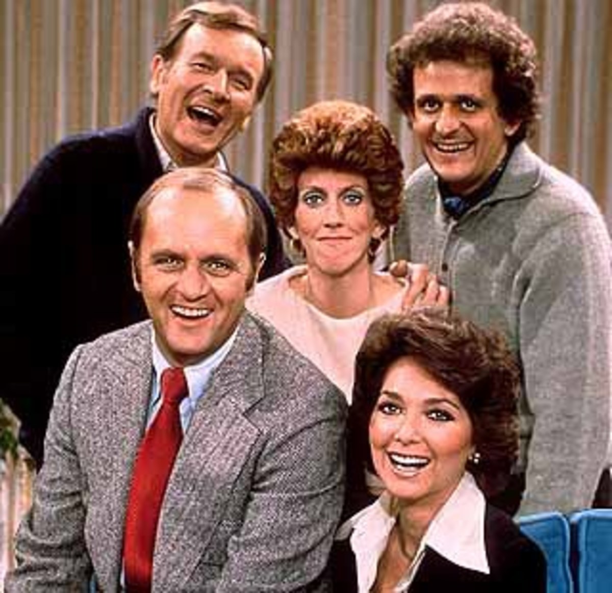 The cast of the Bob Newhart Show 1972