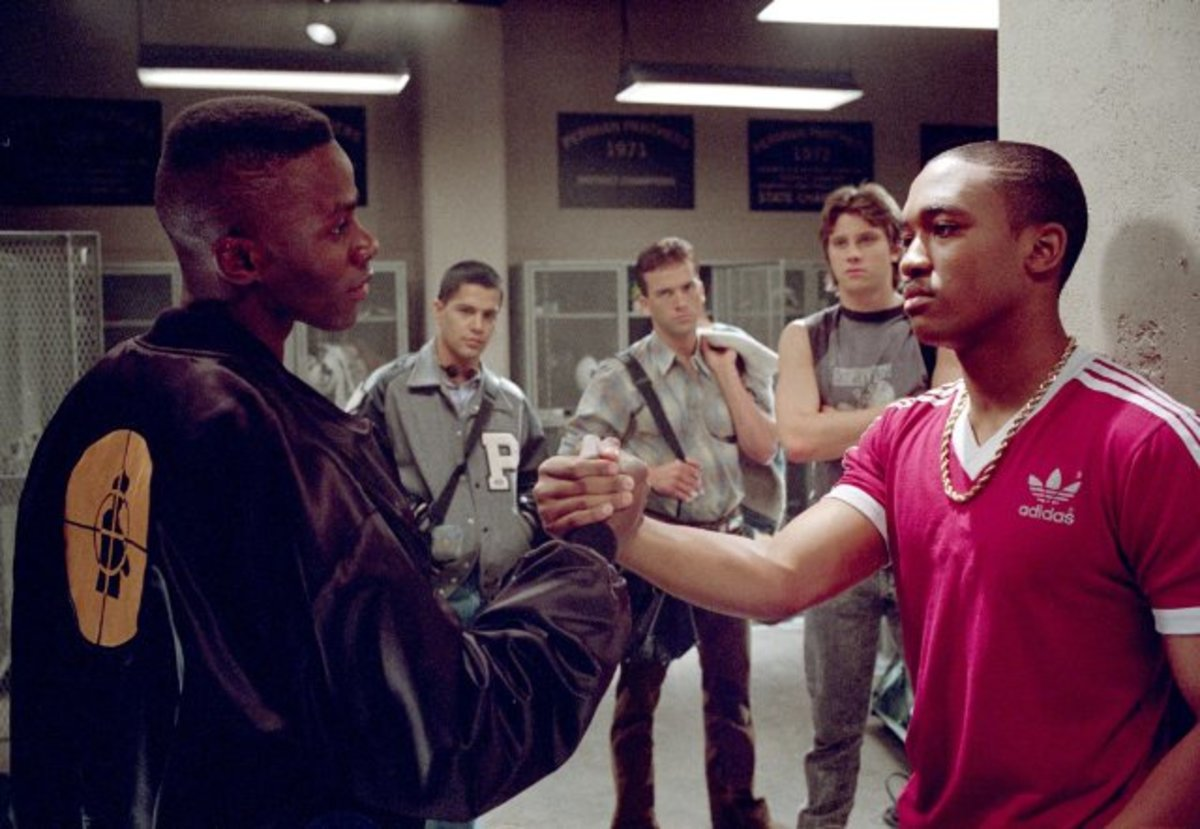 Lee Thompson Young in the series Friday Night Lights, 2004