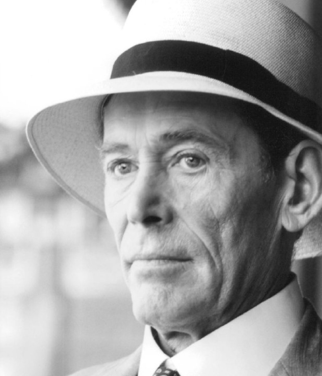 Peter O'Toole in The Last Emperor in 2009